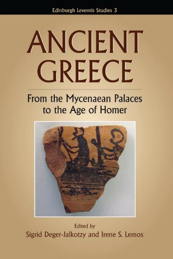 Ancient Greece: From the Mycenaean Palaces to the Age of ... - Nam
