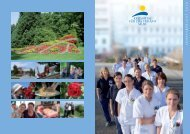 Jahresbericht 2010 - Kreisspital für das Freiamt Muri