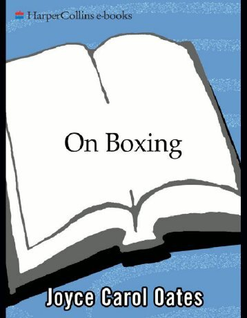 On Boxing