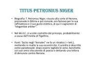Petronio - TABULA DEALBATA