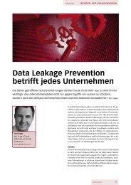 Data Leakage Prevention betrifft jedes Unternehmen - InfoTrust AG