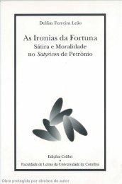 As Ironias da Fortuna - UC Digitalis - Universidade de Coimbra