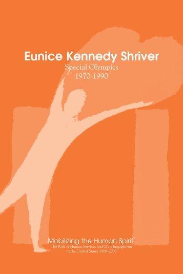 Eunice Kennedy Shriver - The Human Spirit Initiative