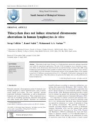 Thiocyclam does not induce structural chromosome aberrations in ...