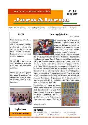JornAlorna - Agrupamento de Escolas Marquesa de Alorna