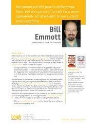 Bill Emmott - Compromisso Portugal