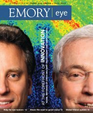 INNOV A TION - Emory Eye Center - Emory University