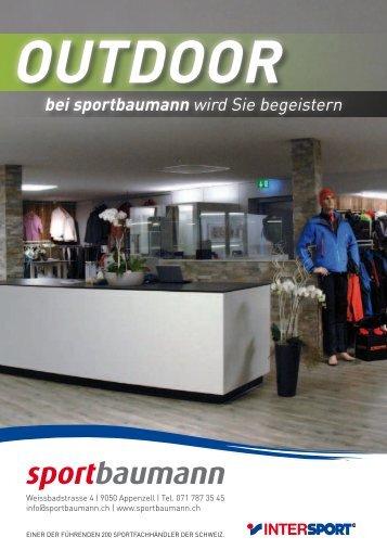 OutdOOr bei sportbaumann - Sport Baumann in Appenzell
