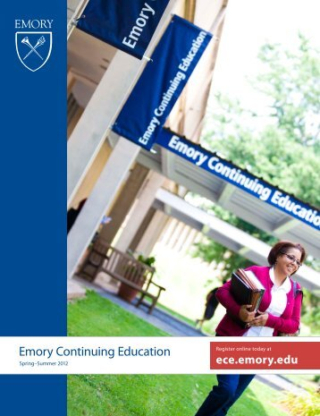 Download - Emory Continuing Education - Emory University