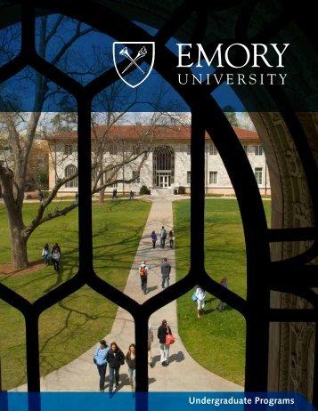 Undergraduate Programs - Emory University