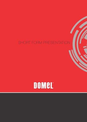 SHORT FORM PRESENTATION ANGL 2013 3. 11 OK.cdr - Domel