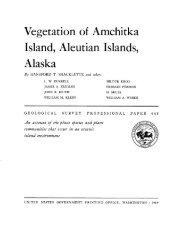 Vegetation of Amchitka Island, Aleutian Islands, Alaska