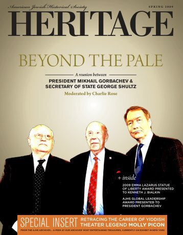 Beyond the Pale - American Jewish Historical Society