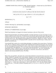 HERBERT ROSENTHAL JEWELRY CORP., Plaintiff-Appellant, v ...