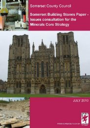 Issues Paper - Building Stone - Somerset County Council
