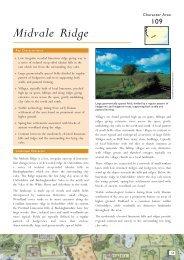 Character Area 109 Midvale Ridge - Natural England