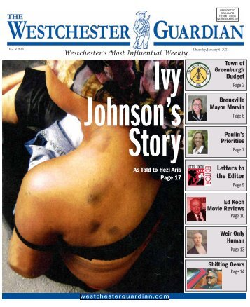 Letters to the Editor - Westchester Guardian
