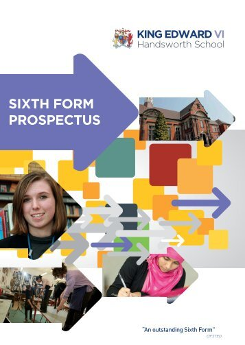 SIXTH FORM PROSPECTUS - King Edward VI Handsworth School