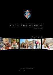 prospectus - King Edward VI Sixth Form College, Stourbridge > Home