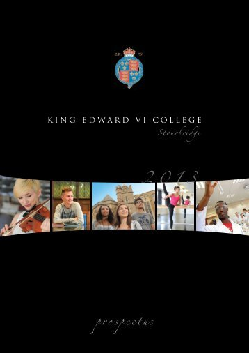 prospectus - King Edward VI Sixth Form College, Stourbridge > Home
