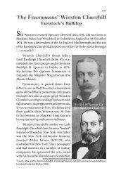 4. The Freemasons' Winston Churchill - Greg Hallett and Spymaster