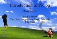 Prolog - Linux Supporters Group