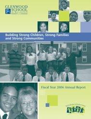 105574 r10 GSB AnnualRprt_06 - Glenwood School