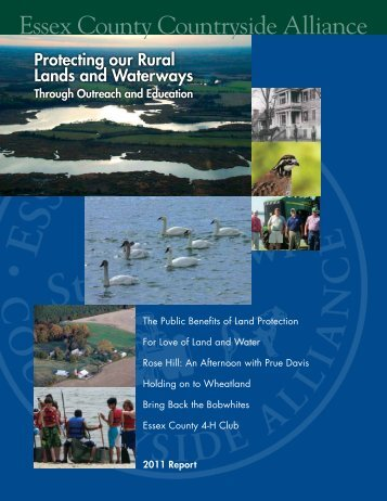 2011 Magazine - Essex County Countryside Alliance