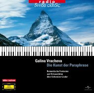 CD-Booklet (PDF) - Radio Swiss Classic