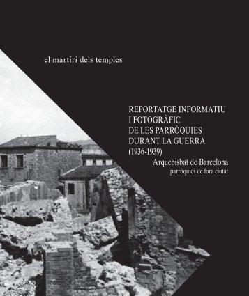 El martiri dels temples - Patrimoni Cultural - Arquebisbat de Barcelona