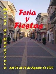 Ferias y Fiestas 2010 - Ayuntamiento de Moral de Calatrava