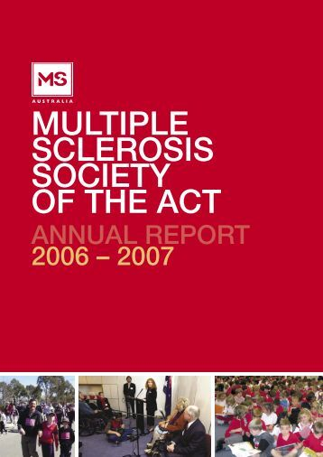 Annual Report 2007 - ACT/NSW/VIC