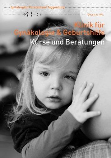 Gynäkologie & Geburtshilfe: Kurse und Beratungen
