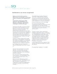 Medienspiegel - Spital Region Oberaargau