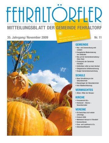 verein / vermischtes - Gemeinde Fehraltorf