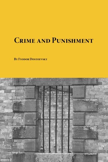 Crime and Punishment - The Free Information Society