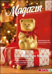 SPAR Schweiz - Magazin 08/11