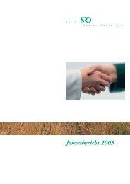 Jahresbericht 2005 - Spital Region Oberaargau