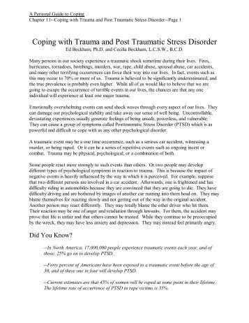 ptsd and war essay Post-traumatic stress disorder affects people whether or not they have been to war post-traumatic stress disorder essay - post-traumatic stress disorder.