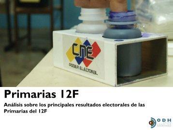 Primarias 12F