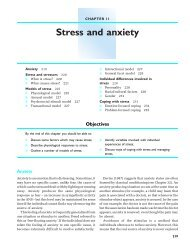 Stress and anxiety - Palgrave
