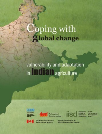 Coping with global change - TERI