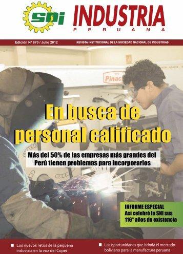 Julio : 870 - Sociedad Nacional de Industrias