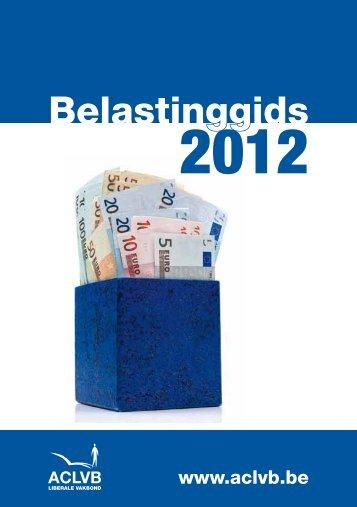 belastinggids-2012