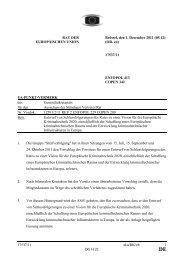 17537/11 - Öffentliches Register der Ratsdokumente - Europa