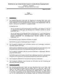 Polen Juli 2012 - Bundesministerium der Justiz