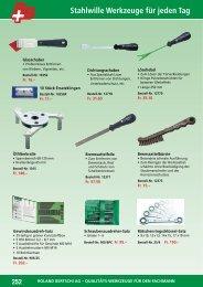 Stahlwille Qualitäts-Werkzeuge 253 - Roland Bertschi AG