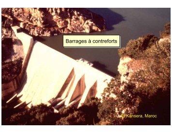 Barrage à contreforts - Cours de Génie Civil