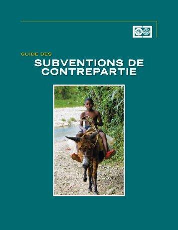 guide Les subventions de contrepartie - Rotary International