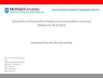Using data to drive practice change and improve patient outcomes ...